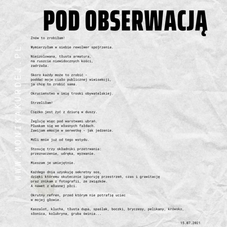 Read more about the article Pod obserwacją